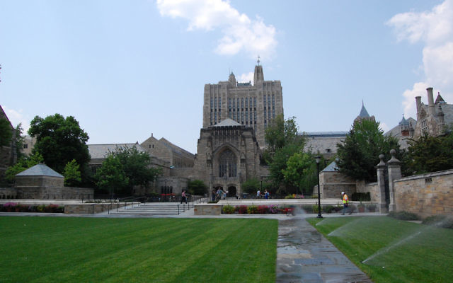Le campus de l'université de Yale. (Crédit: CC BY Poldavo/Flickr)