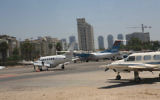 L'aéroport de Sde Dov à Tel Aviv. (Crédit: Yossi Zamir/Flash90)