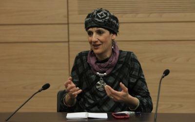 Shuli Moalem, députée de HaBayit Hayehudi. (Crédit : Miriam Alster/Flash90)