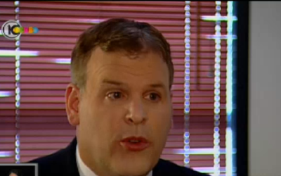 John Baird (Credit : Channel 10 Screen Shot)
