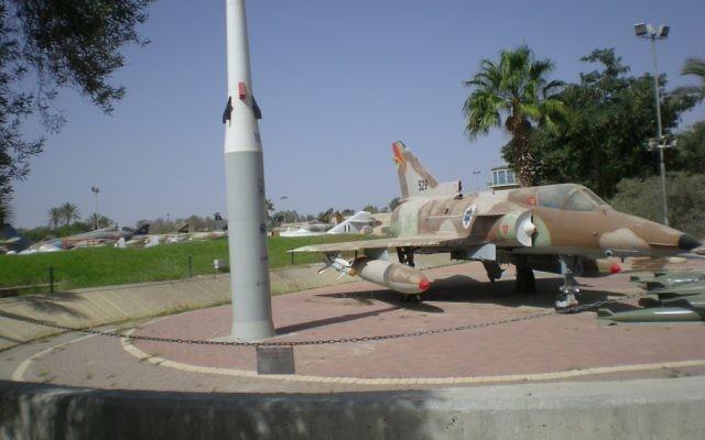 Kfir-7, Israeli Aircraft Industries. (Crédit : Shmuel Bar-Am)