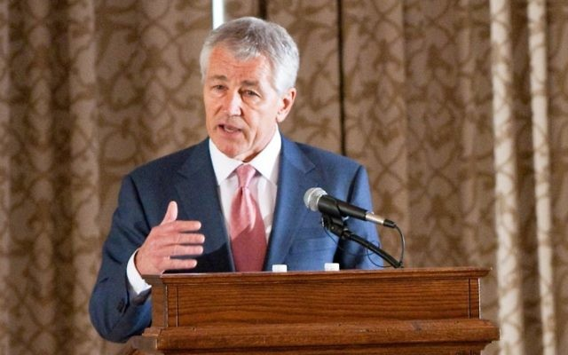 Chuck Hagel (Crédit: CC BY-ND Gerald R. Ford School of Public Policy, Flickr)