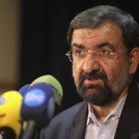 L'ancien chef des Gardiens de la révolution Mohsen Rezaei (Crédit: AP Photo/Vahid Salemi)