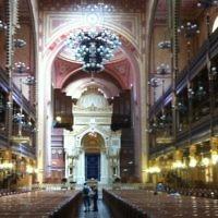 La synagogue de la rue Dohany, à Budapest  (Crédit: Aaron Kalman)