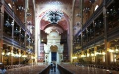 The Dohany Synagogue (photo credit: Aaron Kalman)
