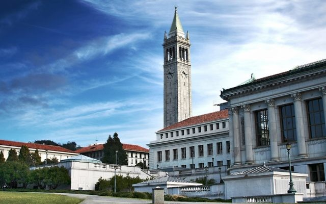 Le campus de l'université de Californie à Berkeley. Illustration. (Crédit : University of California Berkeley campus/CC)