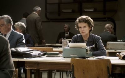 A scene from 'Hannah Arendt' (photo credit: courtesy Zeitgeist Films)