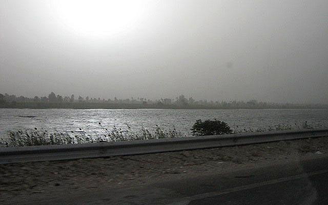 Illustration du Nil (Crédit : CC BY Simona Scolari, Flickr)