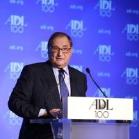 Abraham Foxman, directeur national de l'Anti-Defamation League (Crédit photo : David Karp/via JTA)