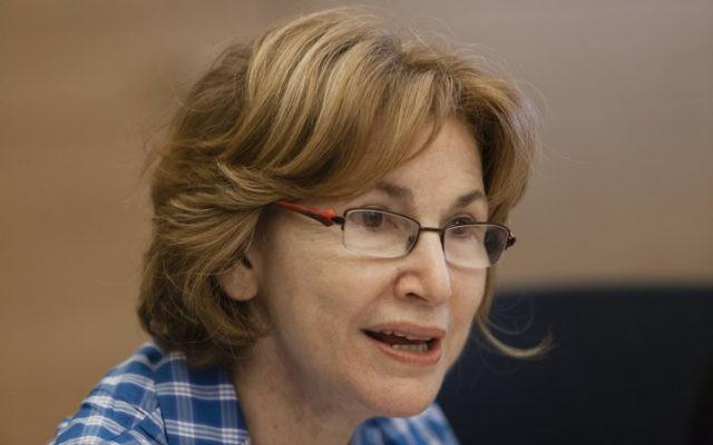 Yael German, députée de Yesh Atid. (Crédit : Flash90)