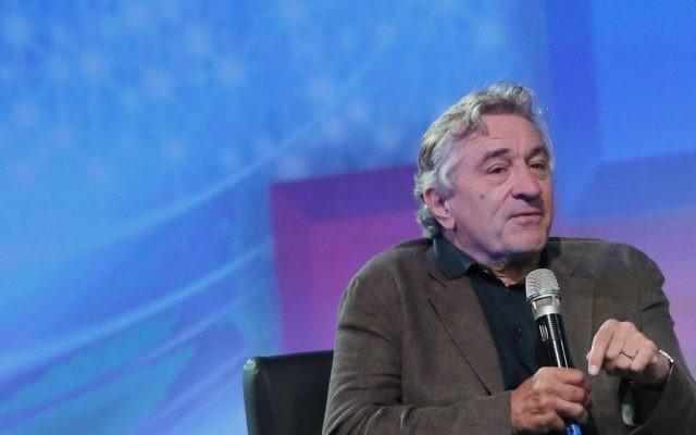 Robert De Niro. (Crédit : Miriam Alster/Flash 90)