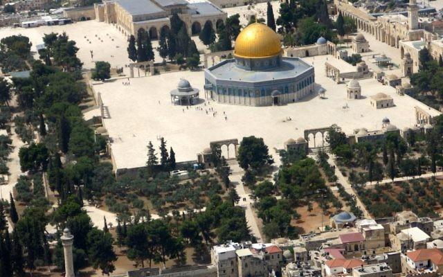 La mosquée Al-Aqsa sur le mont du Temple (Crédit photo: Qanta Ahmed)