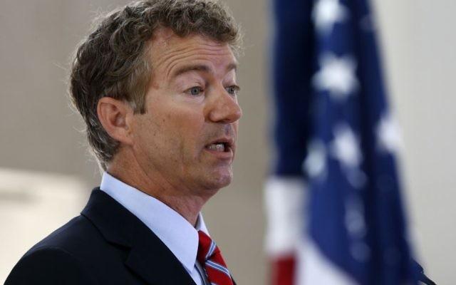 Le sénateur républicain Rand Paul du Kentucky (Crédit: AP Photo/Charles Dharapak, File)
