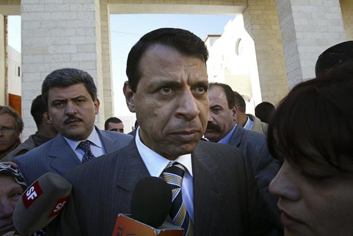 Mohammad Dahlane en 2006. (Crédit : Michal Fattal/Flash90)