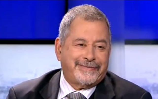Le membre juif de l'OLP Ilan Halevi (Capture d'écran : Youtube)