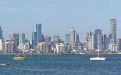 Melbourne, Australie. Illustration. (Crédit : Wikimedia Commons/Donaldytong/File)