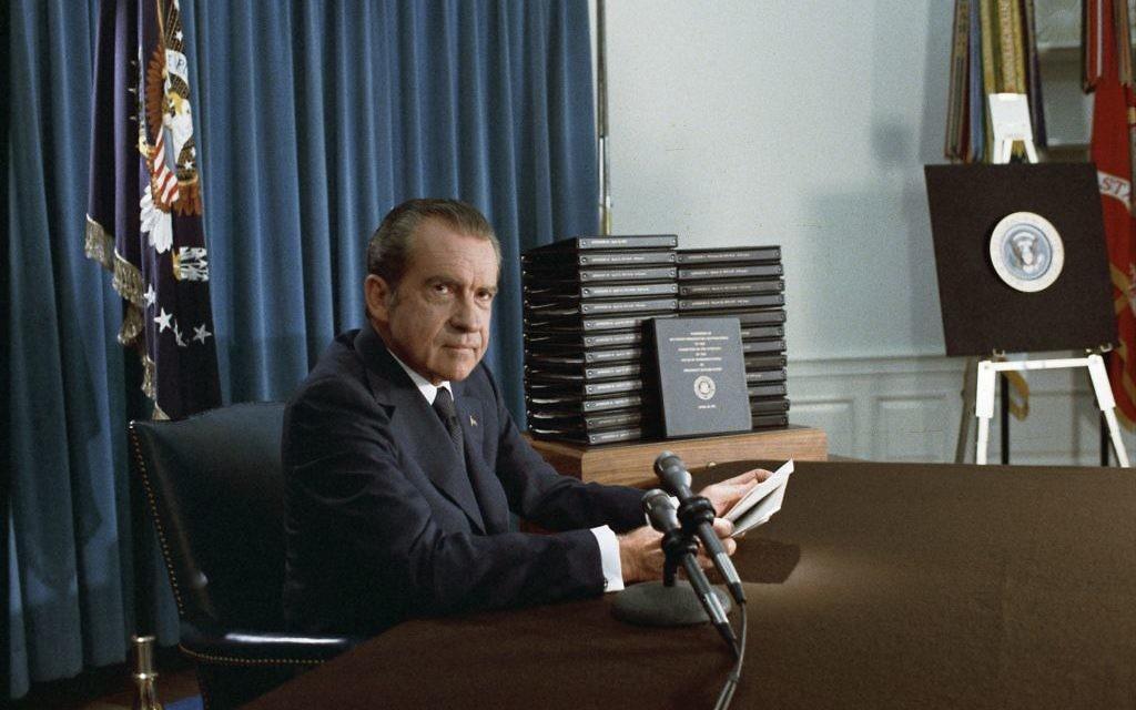 L'ancien président américain Richard Nixon. (National Archives & Records Administration, public domain)