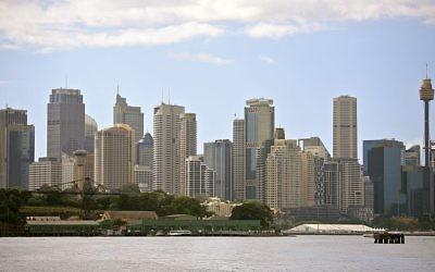 Sydney, Australie (Crédit : Wikimedia Commons/russavia/File)