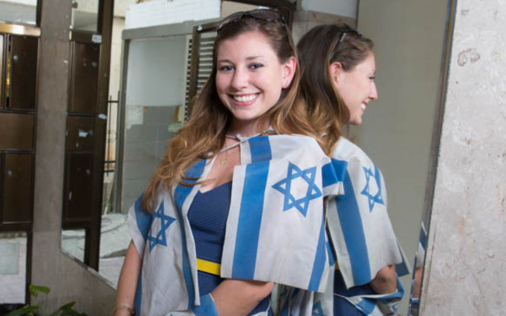 For some Guided Olim, it's more about patriotism and less about paperwork. (photo: courtesy)