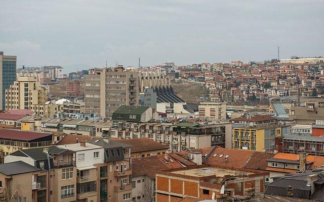 Pristina, Kosovo (photo credit: Arild Vågen/Wikimedia Commons/File)