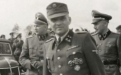 Rudolf Höss, le commandant d'Auschwitz (Crédit : domaine public)