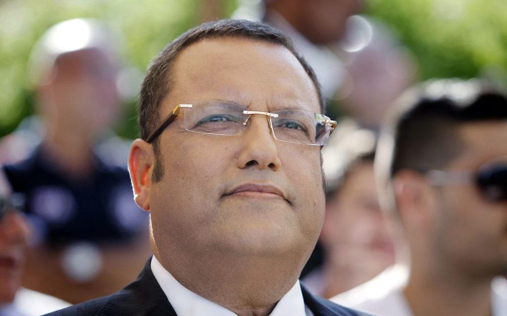 Moshe Lion, vu lors d'une conférence de presse à Jérusalem, le 22 juillet 2013 (Crédit : Miriam Alster/Flash90).