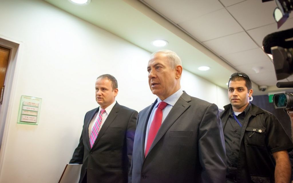 Benjamin Netanyahu (Crédit : Emil Salman/POOL/Flash90)