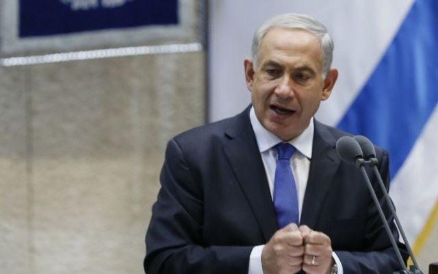 Benjamin Netanyahu (Crédit :  Miriam Alster/Flash90)