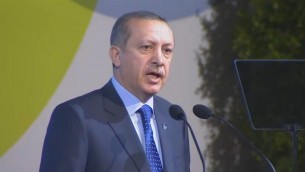 Recep Tayyip Erdogan, Premier ministre turc (Capture d'écran : webtv.un.org)