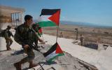 Des soldats israéliens dans la ville de Jéricho, en Cisjordanie (Crédit: Issam Rimawi/Flash90)