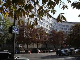 Façade de l'Unesco, située avenue Suffren, à Paris (Crédit : Wikimedia Commons)