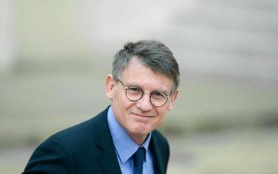 Le ministre de l'Education nationale Vincent Peillon, le 22 janvier 2014 à Paris  (Crédit : AFP/Archives Alain Jocard)