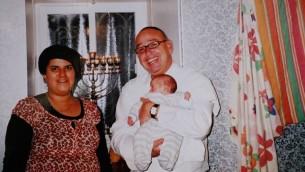 Les parents Avraham et Galit Tufan et leur enfant Yossef Haim, morts dans l'explosion de gaz à Gilo, Jérusalem (Crédit ; reproduction Flash 90)