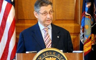 Sheldon Silver, avocat new-yorkais (Crédit : Nyer42/Wikimedia Commons)