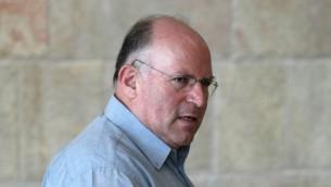 Uzi Arad, ancien conseiller à la sécurité nationale de Benjamin Netanyahu. (Crédit : Kobi Gideon/Flash90)