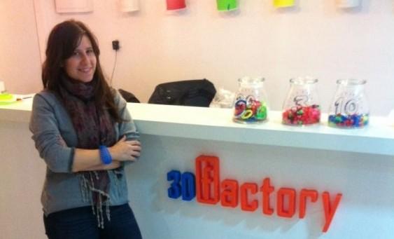 Jessica Jaffe, directrice de la boutique 3D Factory à Jaffa (Crédit: 3D Factory)