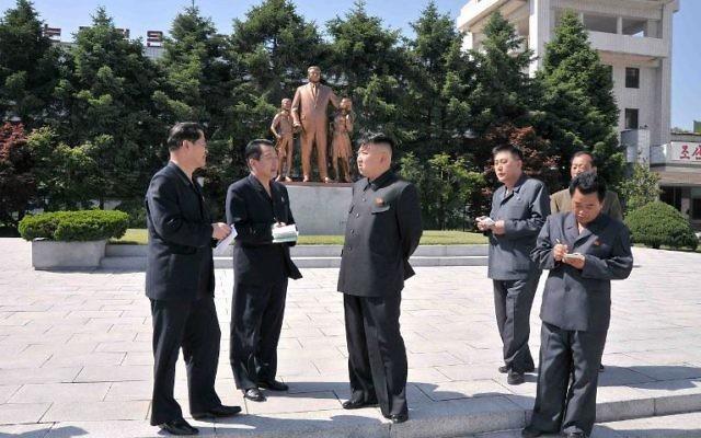Pour la première fois, des juristes mandatés par l'ONU ont établi un réquisitoire accablant et argumenté contre le régime nord-coréen, l'accusant de crimes contre l'humanité à grande échelle, et réclamé que la communauté internationale agisse pour que les responsables rendent des comptes (Crédit : Kcna/Kns/AFP/Archives)