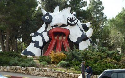 Le monstre toboggan (Crédit : CC-BY-SA Djampa, Wikipedia)