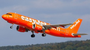 Airbus de la compagnie easyJet (Crédit : Biggerben/Wikimedia Commons/CC BY-SA 3.0)