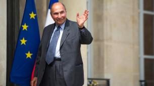 Serge Dassault, à Paris le 25 juin 2013 (Crédit : AFP/Archives Fred Dufour)