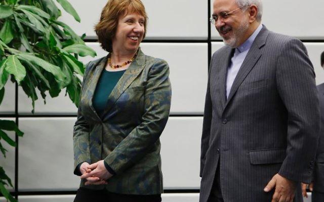 """Après l'accord historique de novembre, l'Iran et les grandes puissances ont lancé mardi à Vienne des négociations """"longues et compliquées"""" visant à enterrer définitivement leur conflit sur le programme nucléaire de Téhéran, soupçonné d'avoir un volet militaire. (Crédit : AFP Dieter Nagl)"""