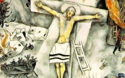 """Marc CHAGALL, """"La Crucifixion blanche"""" (Crédit : Autorisation)"""