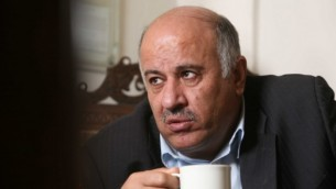 Le responsable du Fatah, Jibril Rajoub (Crédit : Nati Shohat/Flash90)