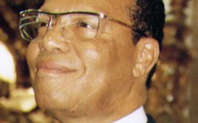 Le dirigeant de la Nation de l'islam, Louis Farrakhan (Crédit : US Embassy/domaine public/wikimedia commons)