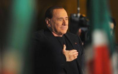L'ancien Premier ministre italien Silvio Berlusconi, le 27 novembre 2013 à Rome (Crédit : AFP/Archives Tiziana Fabi)