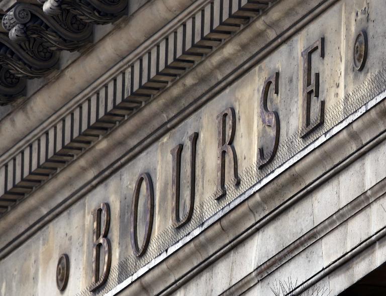 Le palais Brongniart, ancien siège de la bourse de Paris (Crédit : AFP/Archives Thomas Coex)