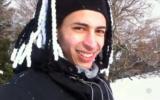 Quatre semaines avant la tuerie de Toulouse, Mohamed Merah est allé skier. (Crédit : France 3/YouTube via JTA)