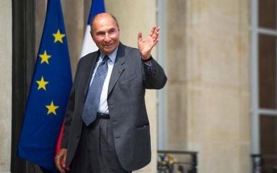 Serge Dassault à Paris (Crédit : AFP/Archives Fred Dufour)