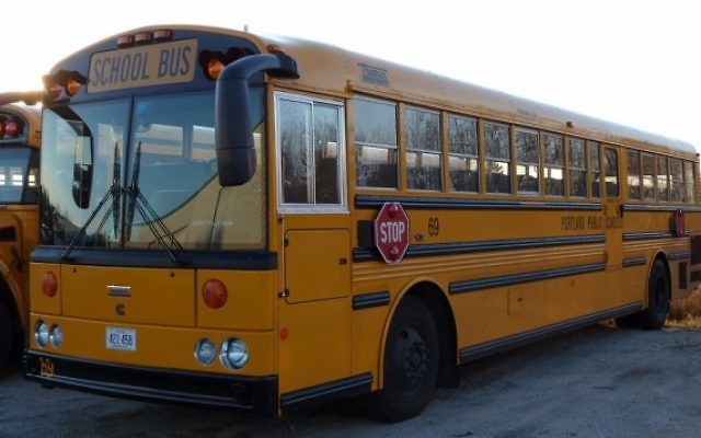 Un bus scolaire américain (Crédit : CC-BY-SA BMRR/Wikipedia)