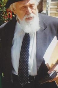 Reuven Feuerstein (Crédit : Wikimedia commons)